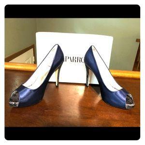 "🎈🎈Caparros 4-1/2""  navy blue high heels 🎈🎈"